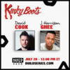 "David Cook and J. Harrison Ghee of Broadway's ""Kinky Boots"" on Build Series Friday, July 20!"