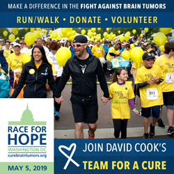 Join David Cook's Race for Hope-DC Team for a Cure